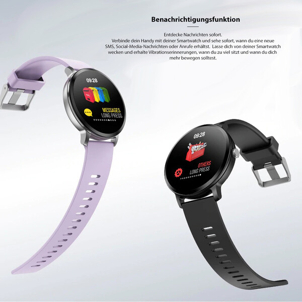 V11 Smartwatch und Activity Tracker