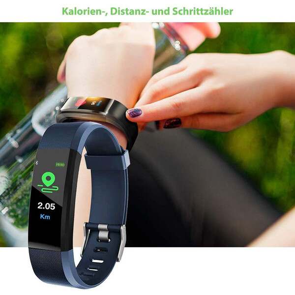 Activity-Tracker mit OLED-Display
