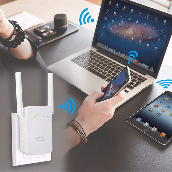 WiFi Repeater mit Smart Switching