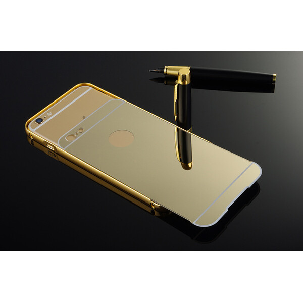 Metall-Case iPhone und Samsung Modelle Samsung S6 Gold