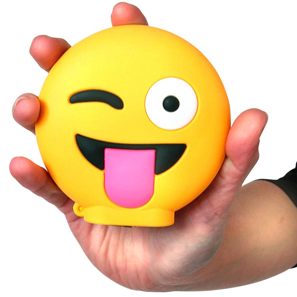 Emoji Powerbank Mit 8800 Mah Und 2x Usb Anschluss