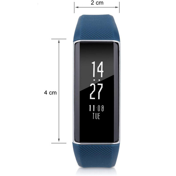 C6 FitWrist mit OLED Display Blau