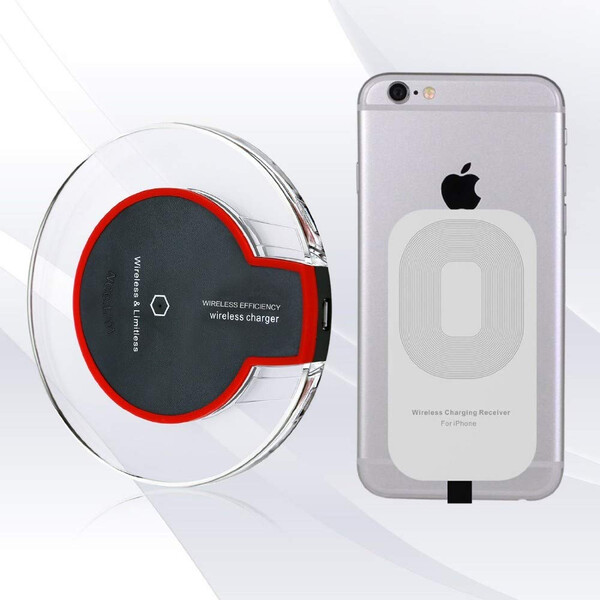 Wireless Charger - Samsung und iPhone kompatibel Weiß